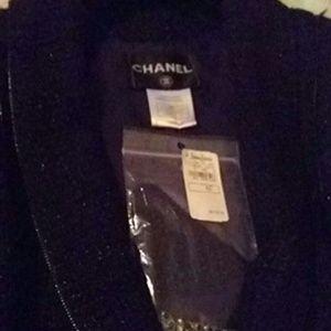 Channel lady black jacket